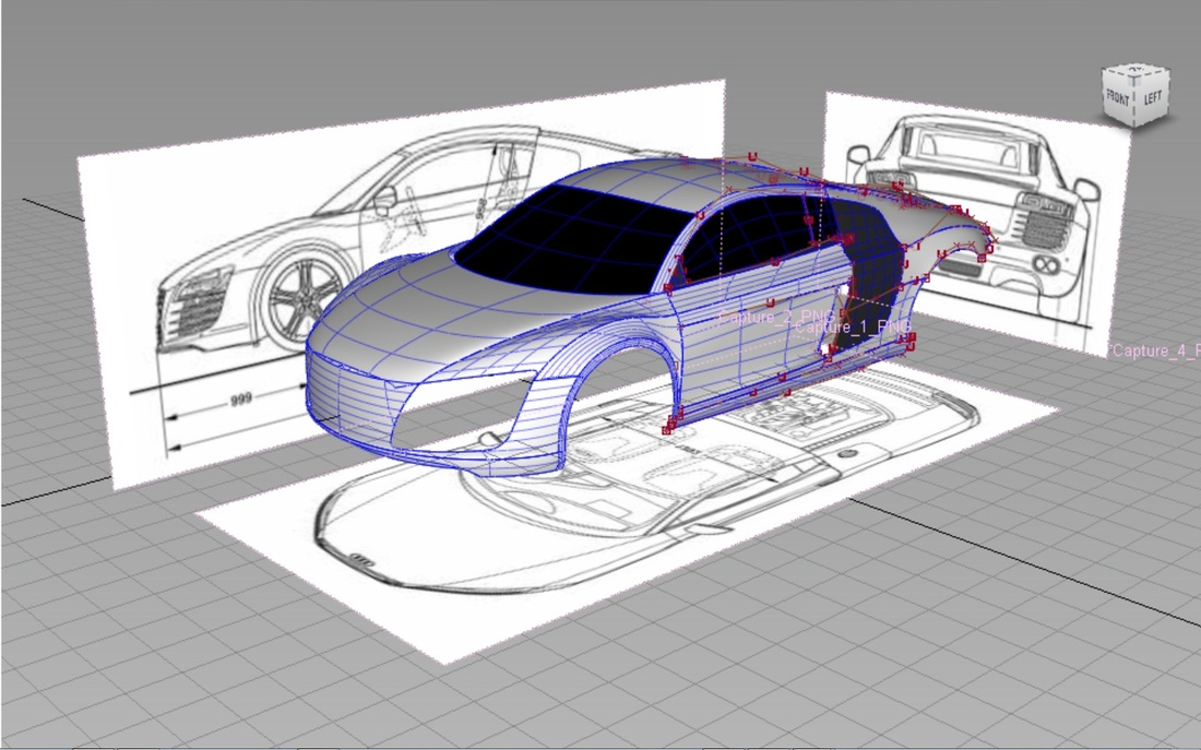 Alias Automotive 3D CAD